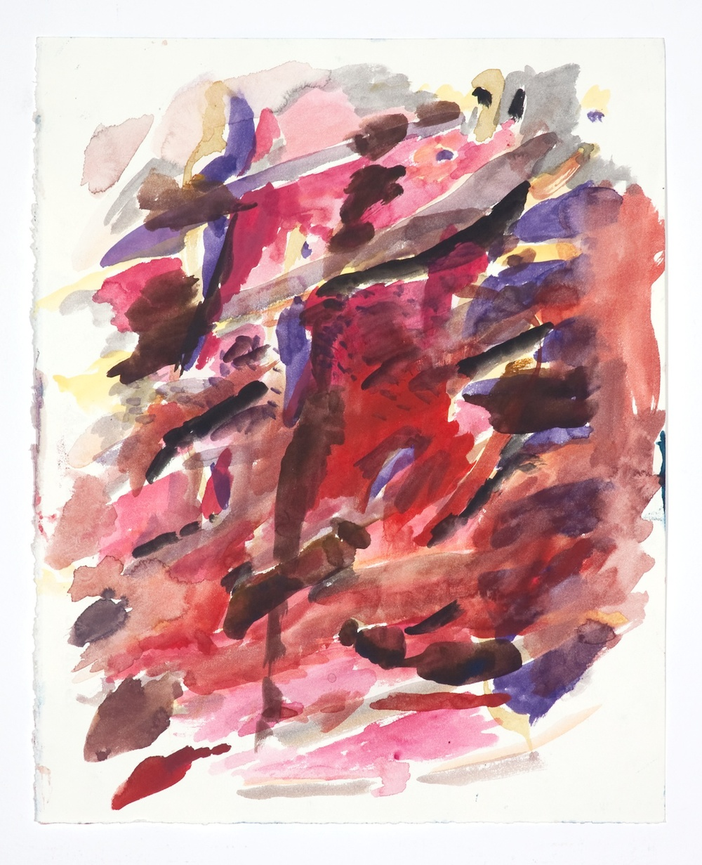Jon Pestoni  Untitled  2009 Gouache on paper 14h x 11w in JP054