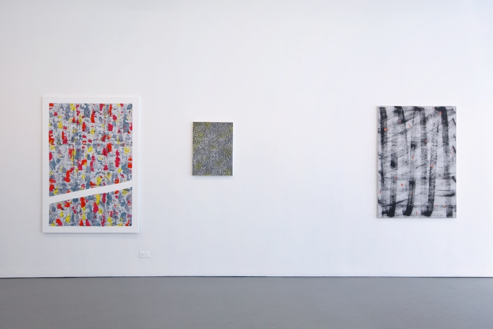 Alex Olson Selected Coats 2012 Shane Campbell Gallery, Chicago Installation View