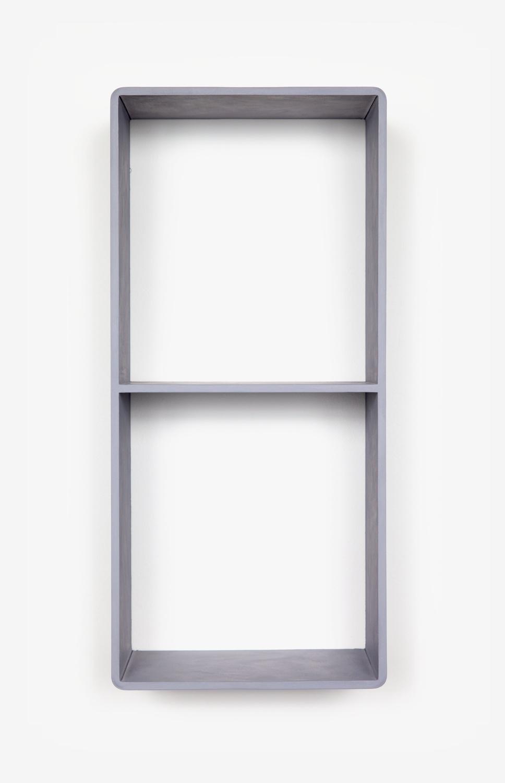 Lisa Williamson  Duplex  2011 Acrylic on steel 18 ½h x 8 ½w x 6d in LW087