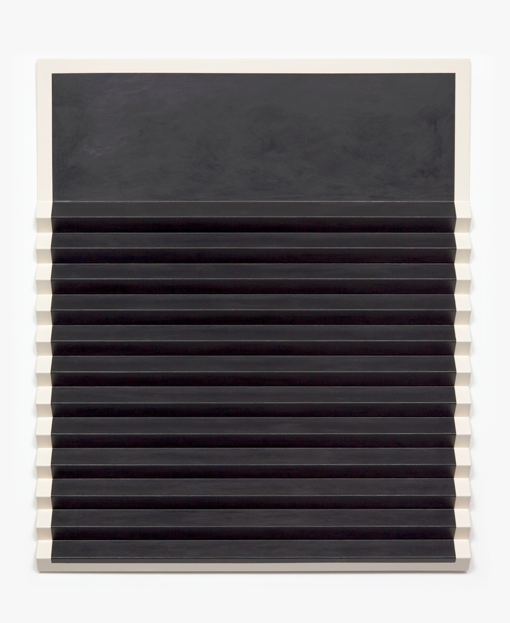 Lisa Williamson  Tuxedo  2011 Acrylic and enamel on steel 33 ¼h x 27 ¾w x 1 ¼d in LW086