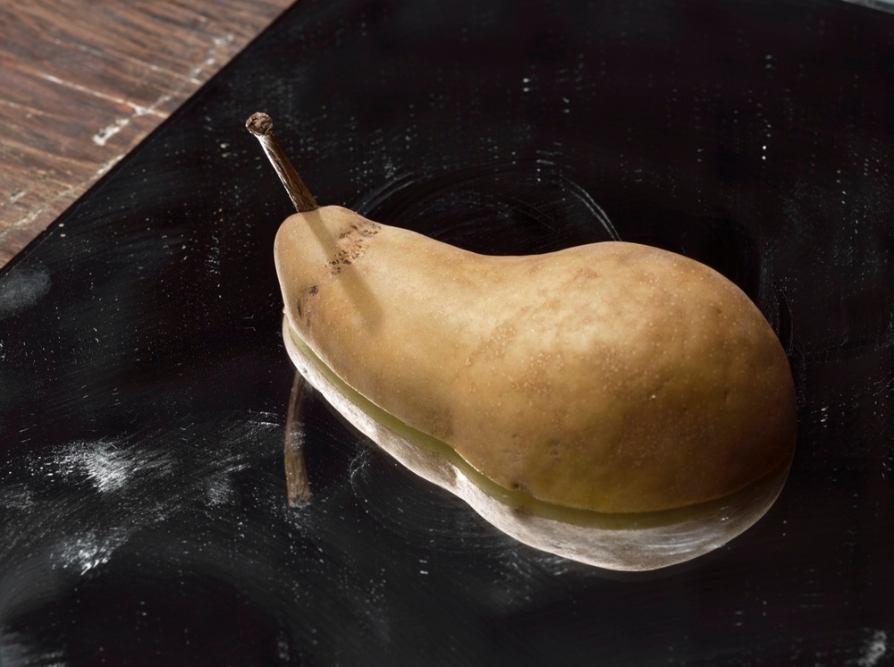 "Roe Ethridge Pear on a Mirror 2011 C-print 33"" x 44"" RE007"