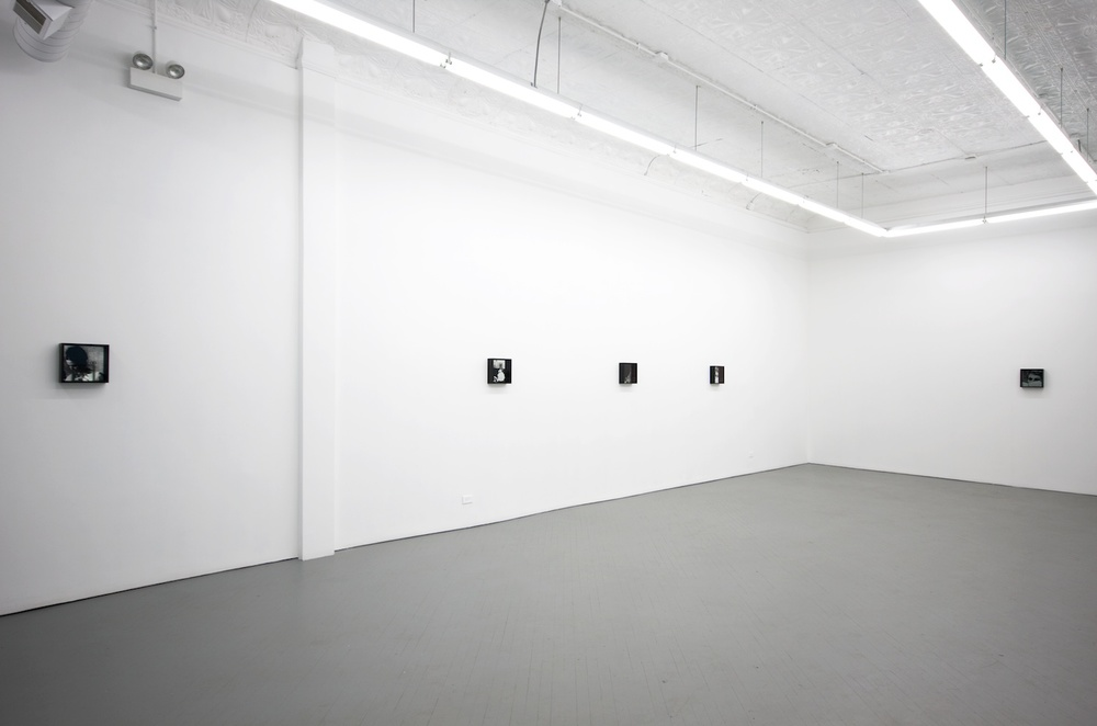 Adam Pendleton the women 2011 Shane Campbell Gallery, Chicago Installation View
