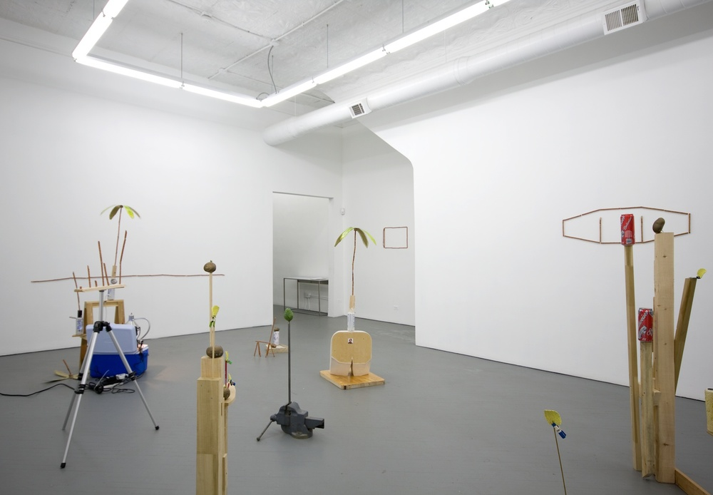 Chris Bradley Quiet Company 2011 Shane Campbell Gallery, Chicago Installation View