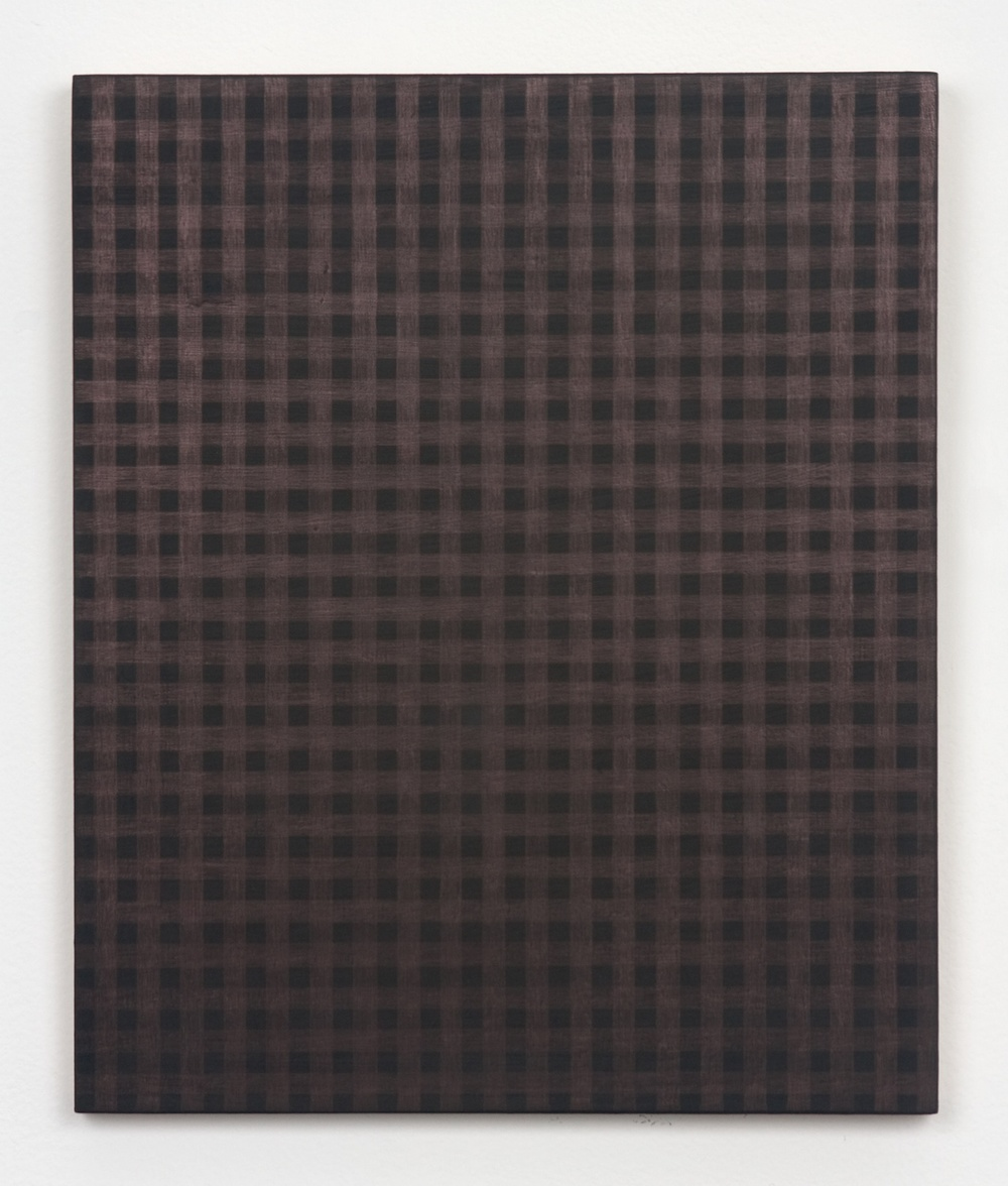 Michelle Grabner  Untitled  2010 Copper and gesso on panel 12h x 10w in MGrab193