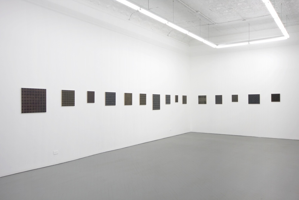 Michelle Grabner Like A Rare Morel 2011 Shane Campbell Gallery, Chicago Installation View