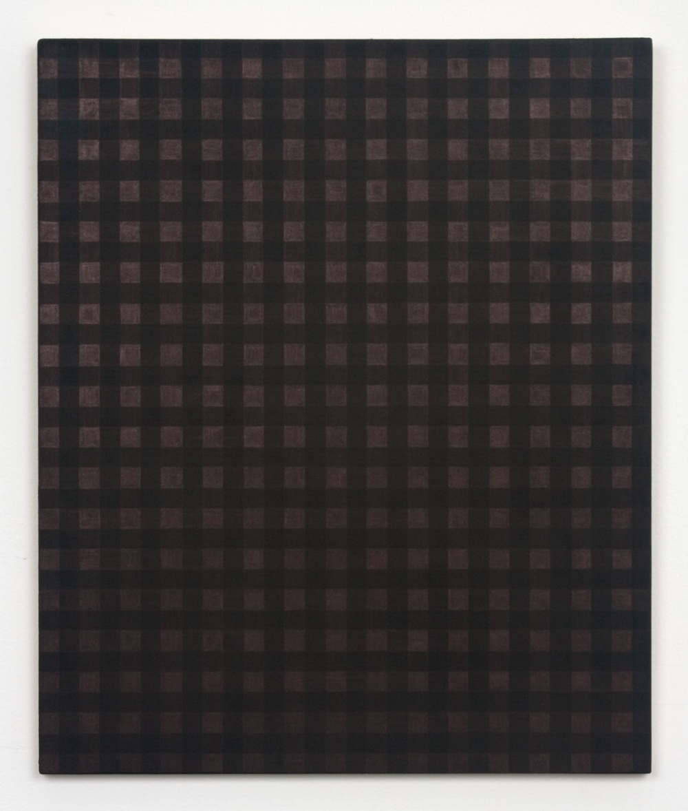 Michelle Grabner  Untitled  2010 Copper and gesso on panel 18h x 15w in MGrab191