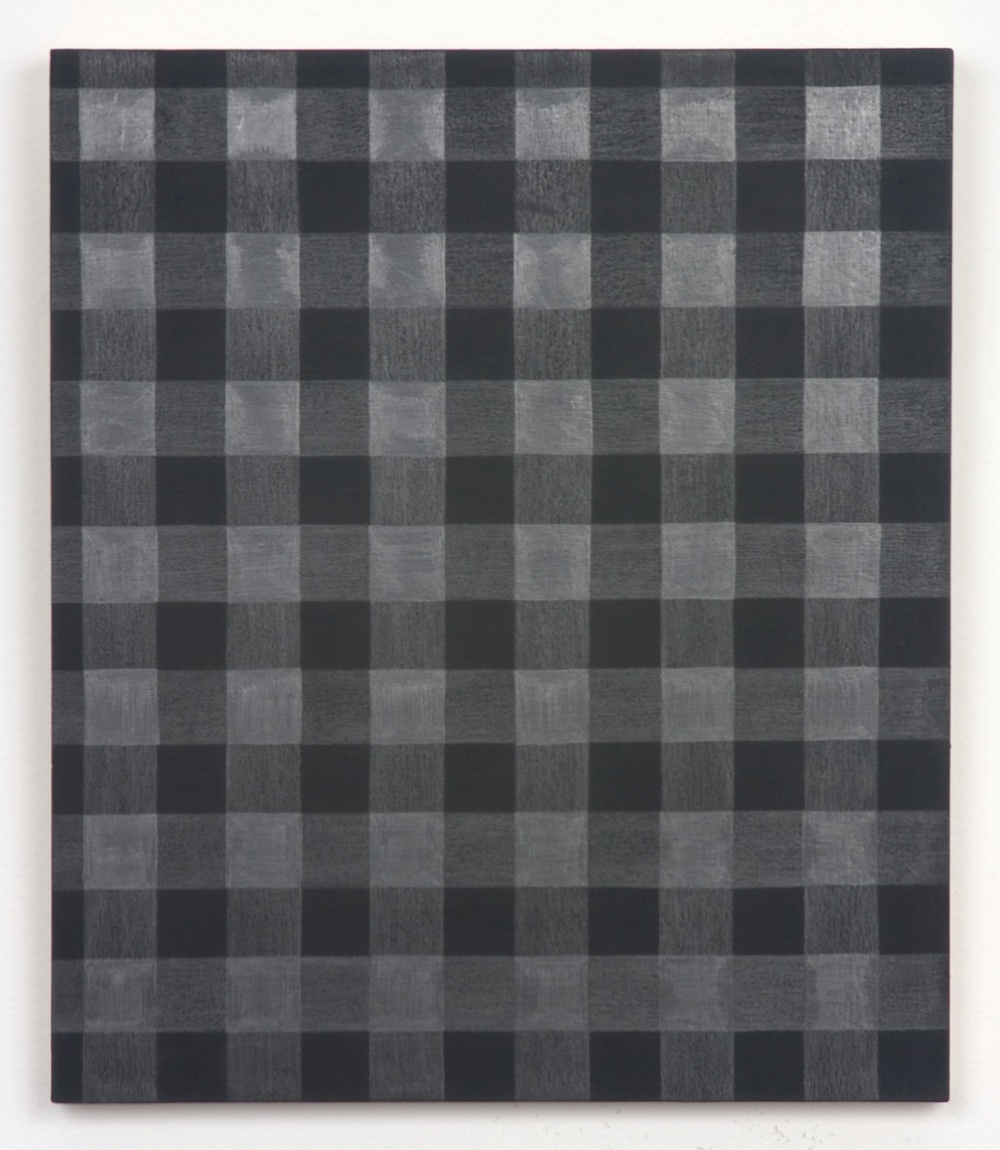 Michelle Grabner  Untitled  2010 Graphite and gesso on panel 12h x 10w in MGrab189
