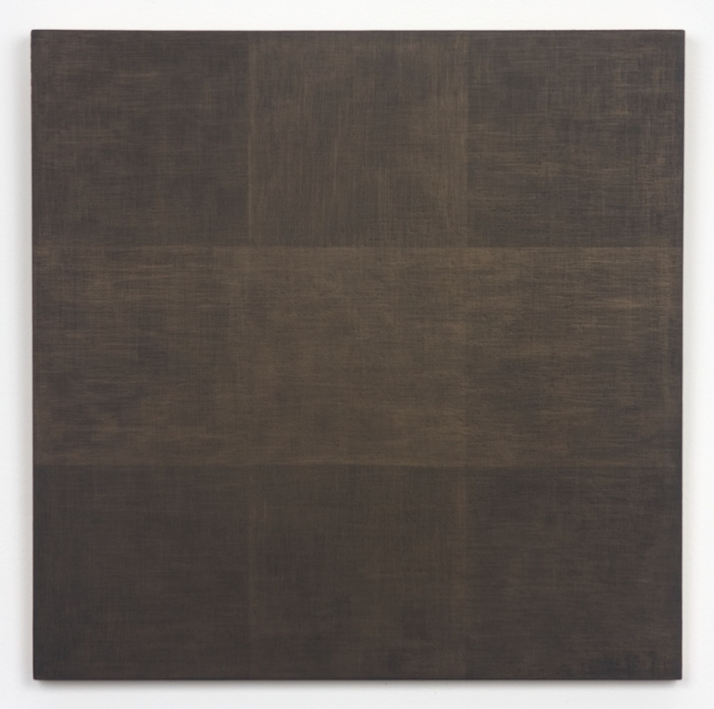 Michelle Grabner  Untitled  2010 Gold and gesso on panel 15h x 15w in MGrab186