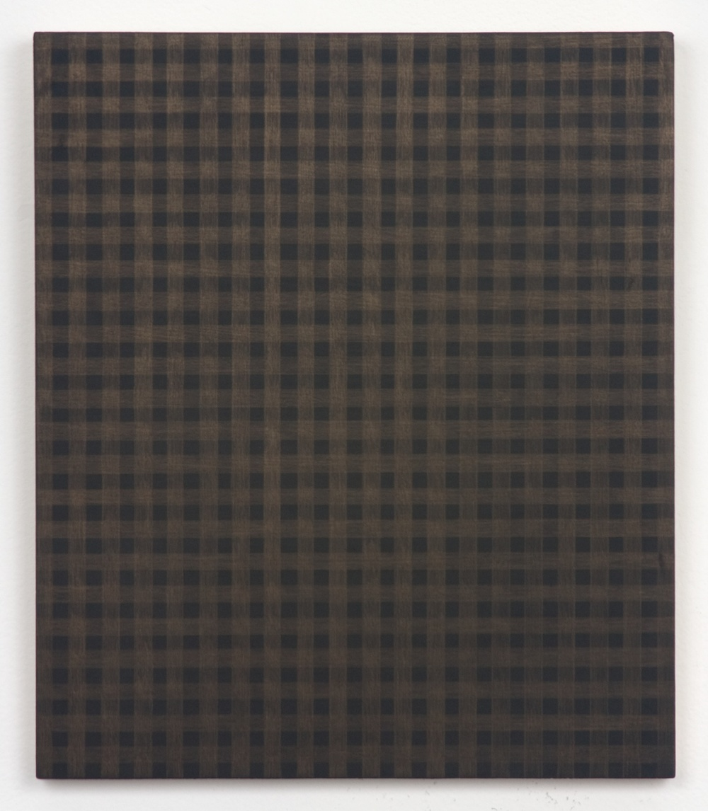 Michelle Grabner  Untitled  2010 Gold and gesso on panel 11 ½h x 10w in MGrab185