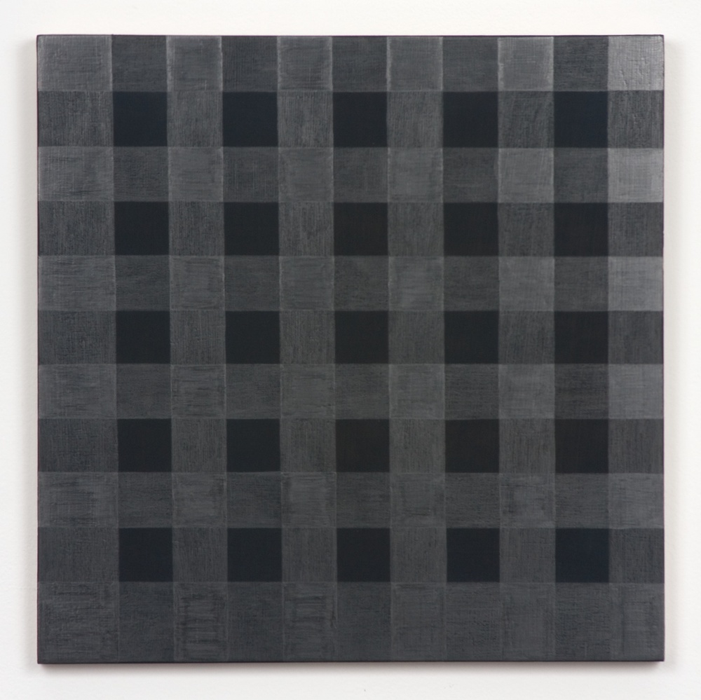 Michelle Grabner  Untitled  2010 Graphite and gesso on panel 15h x 15w in MGrab175
