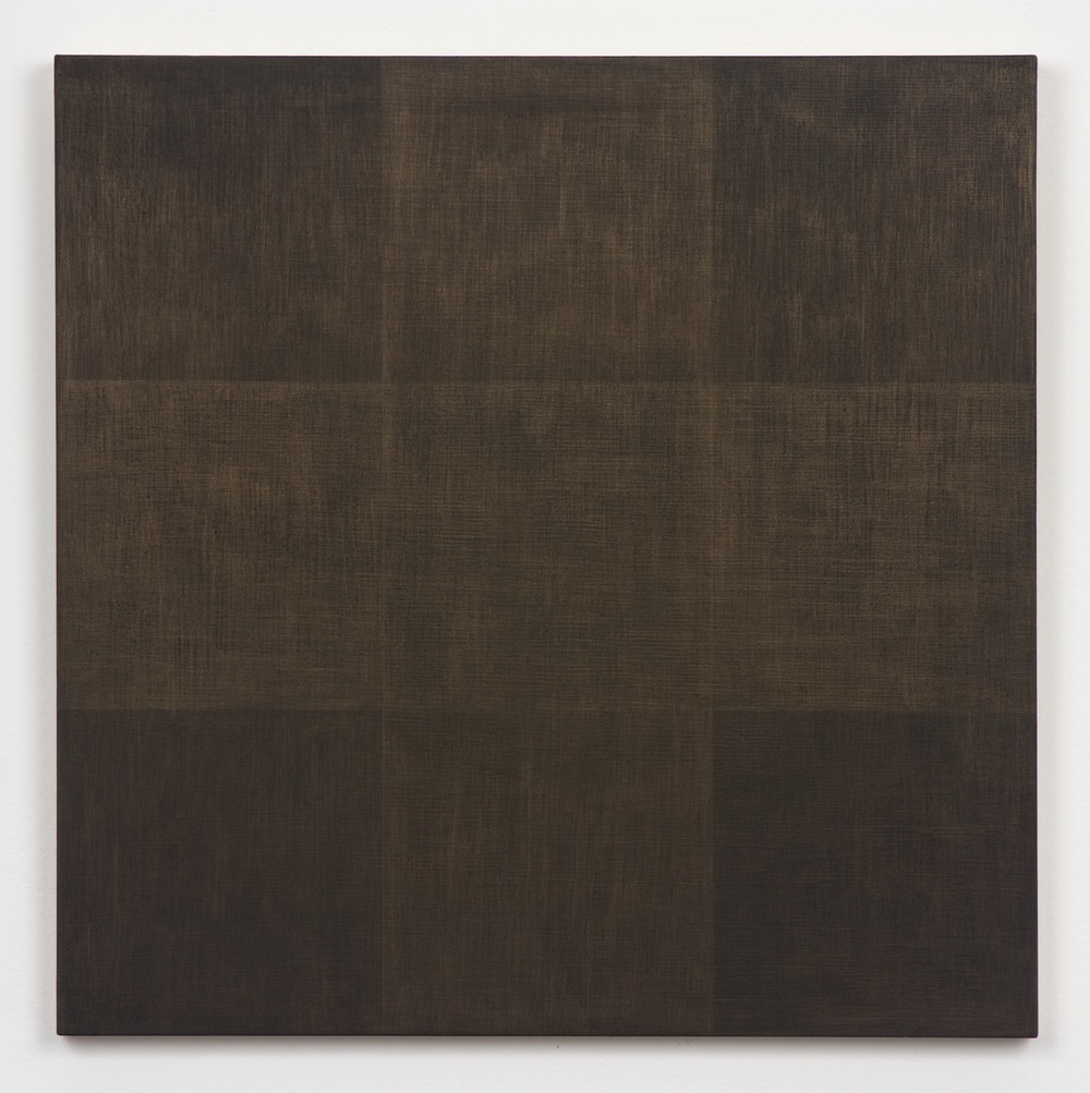 Michelle Grabner  Untitled  2010 Gold and gesso on panel 15h x 15w in MGrab172