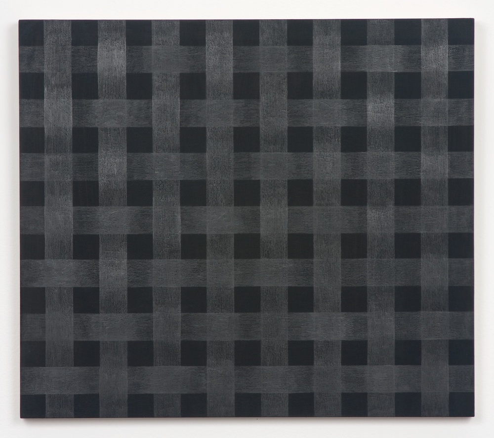Michelle Grabner  Untitled  2010 Graphite and gesso on panel 15h x 17w in MGrab171