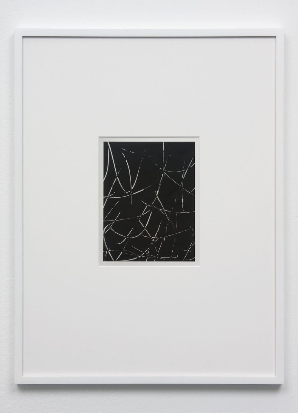 "Anthony Pearson Untitled (Solarization) 2010 Framed solarized silver gelatin photograph 17 1/2"" x 13 1/4"" AP241"