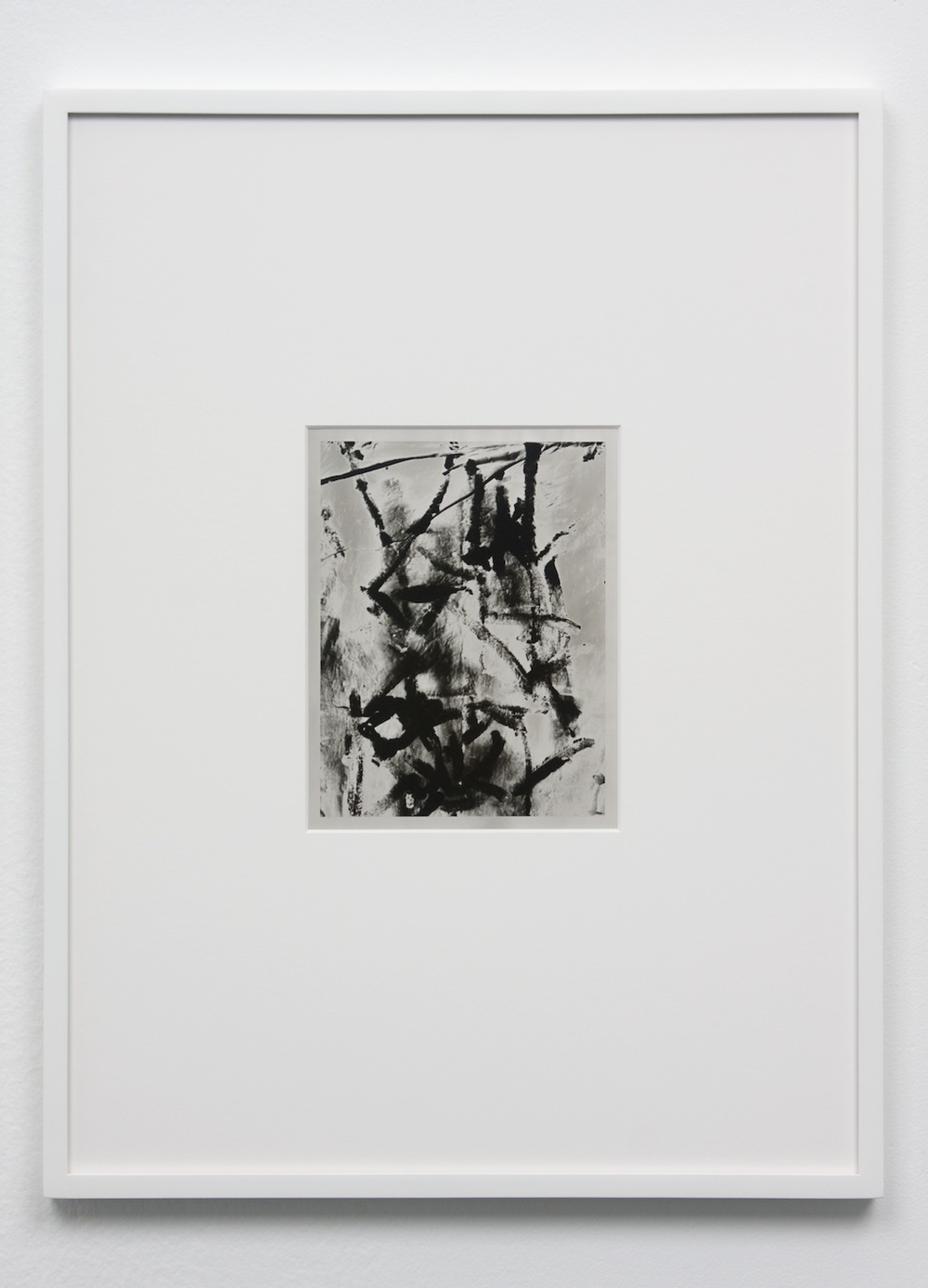 "Anthony Pearson Untitled (Solarization) 2010 Framed solarized silver gelatin photograph 17 1/2"" x 13 1/4"" AP239"
