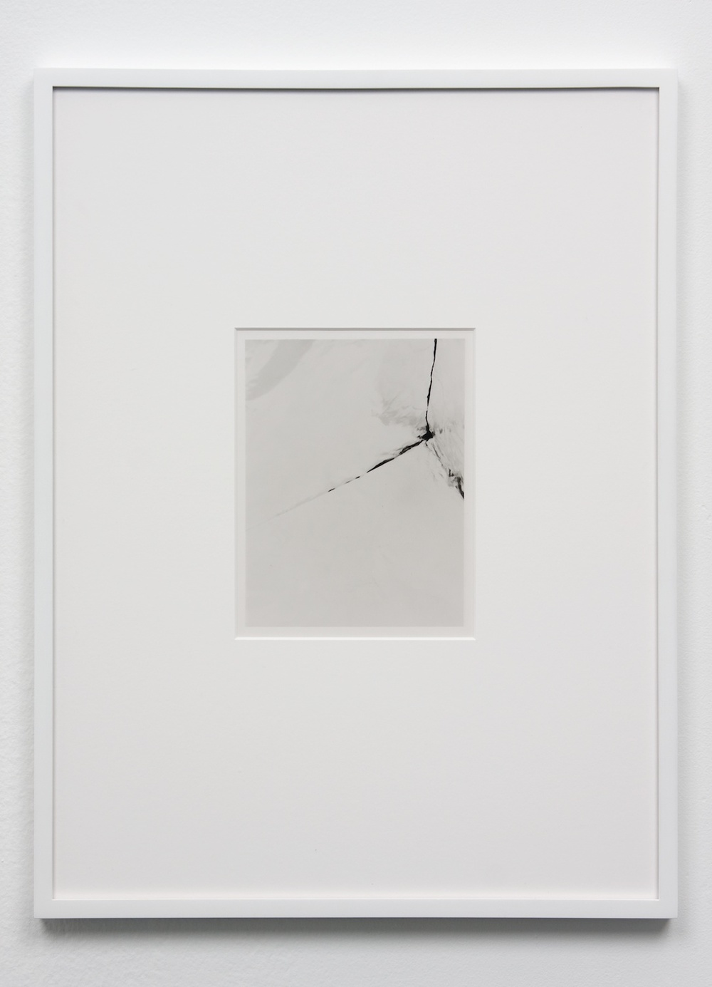 Anthony Pearson  Untitled (Solarization)  2010 Framed solarized silver gelatin photograph 17 ½h x 13 ¼w in AP238