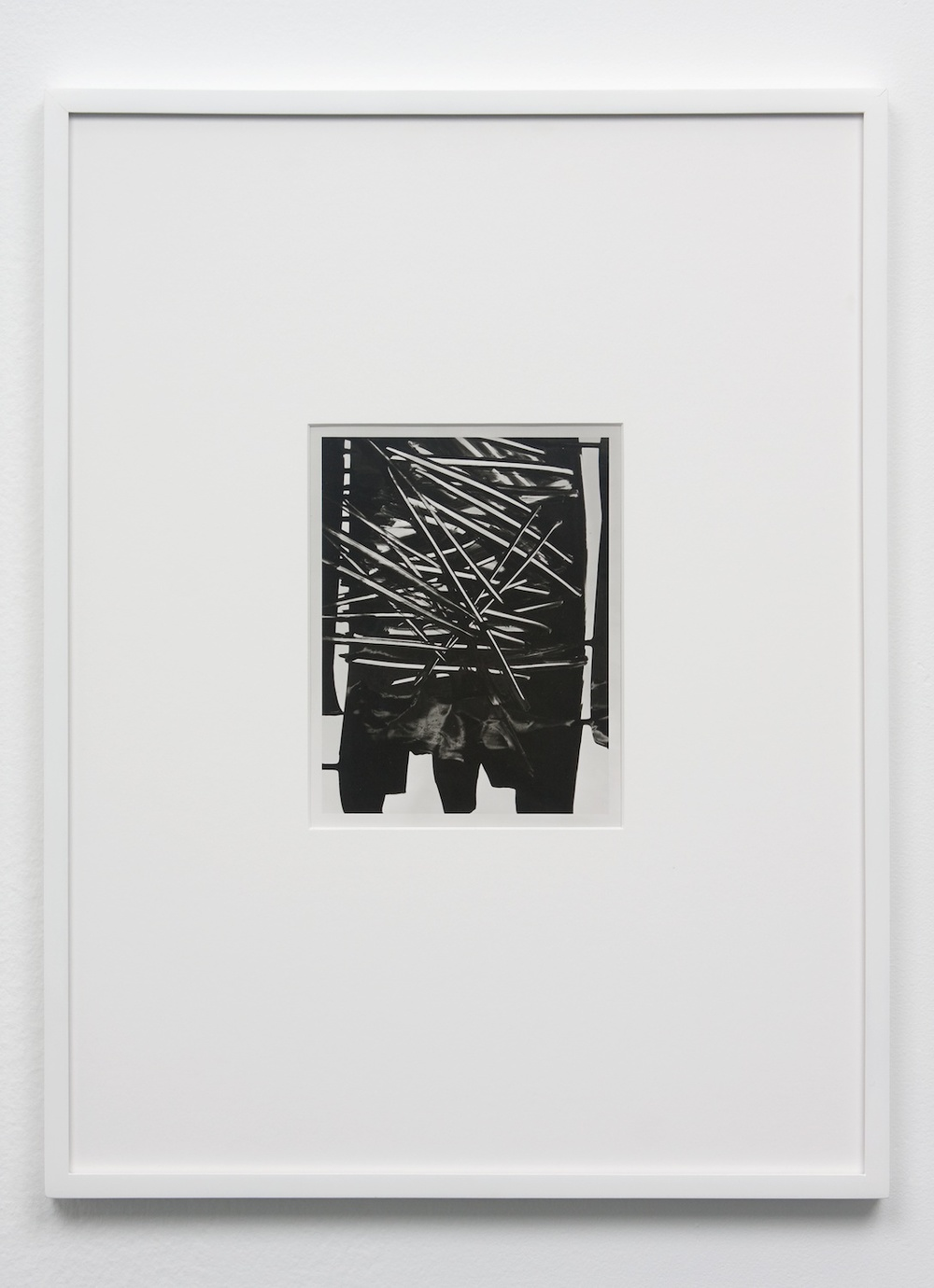 Anthony Pearson  Untitled (Solarization)  2010 Framed solarized silver gelatin photograph 17 ½h x 13 ¼w in AP237