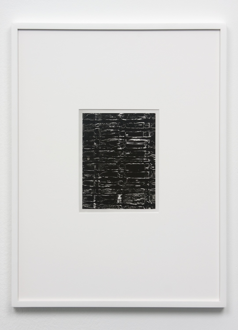 Anthony Pearson  Untitled (Solarization)  2010 Framed solarized silver gelatin photograph 17 ½h x 13 ¼w in AP236