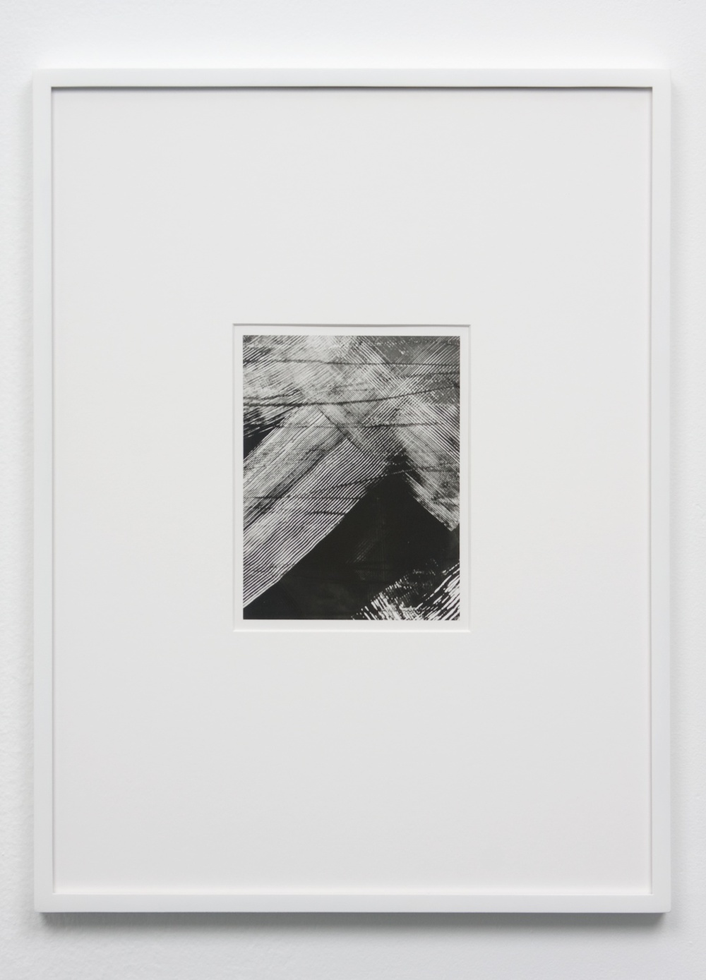 "Anthony Pearson Untitled (Solarization) 2010 Framed solarized silver gelatin photograph 17 1/2"" x 13 1/4"" AP235"