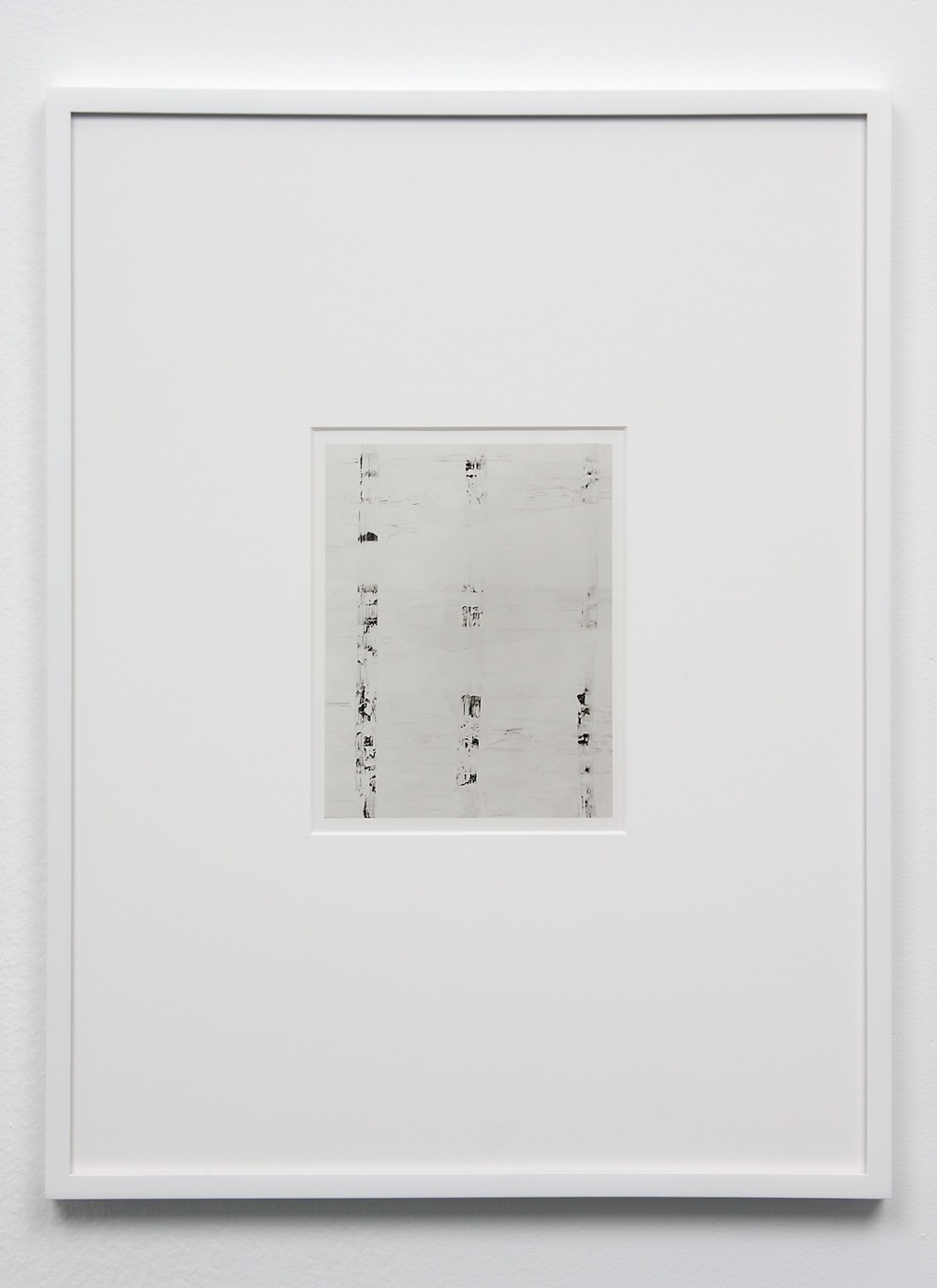 Anthony Pearson  Untitled (Solarization)  2010 Framed solarized silver gelatin photograph 17 ½h x 13 ¼w in AP234
