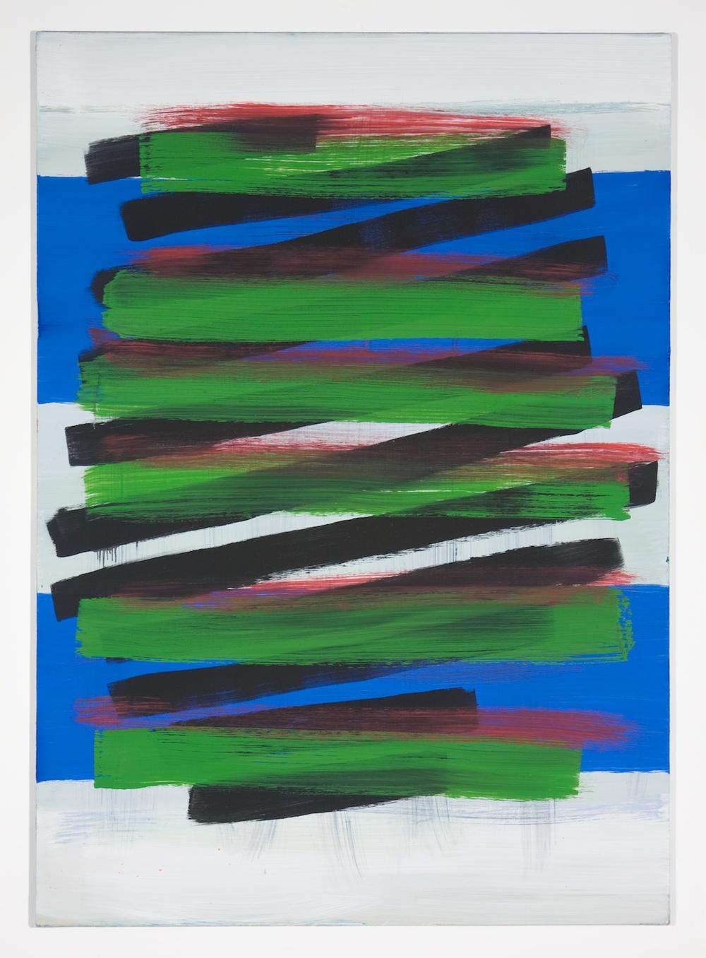 Jon Pestoni  Untitled  2012 Oil on canvas on panel 45h x 32w in JP039
