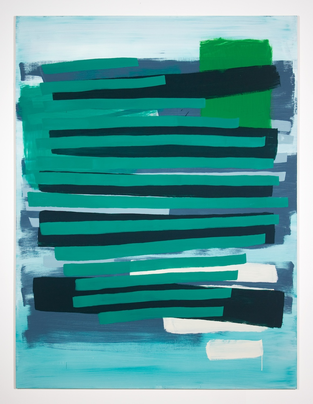 Jon Pestoni  Untitled  2010 Oil on canvas on panel 63 ¾h x 47 ⅝w in JP035