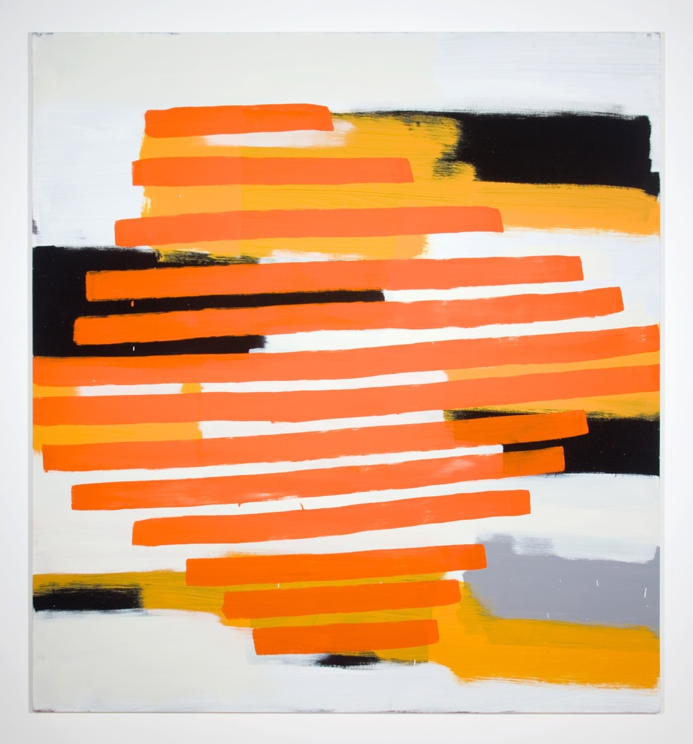 "Jon Pestoni Untitled 2010 Oil on canvas on panel 73"" x 67"" JP032"