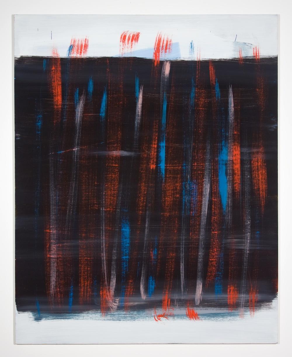 Jon Pestoni  All Ways  2010 Oil on canvas on panel 59 ½h x 47 ½w in JP033