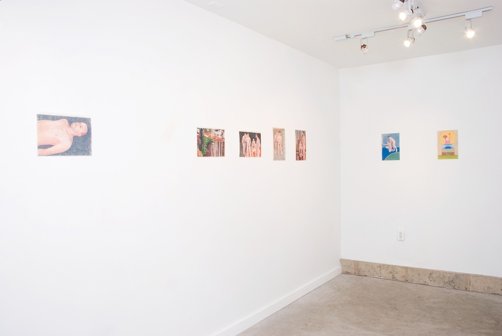Elijah Burgher 2010 Shane Campbell Gallery, Oak Park Installation View