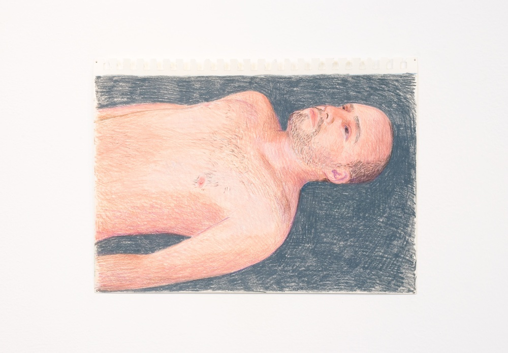 "Elijah Burgher JCDC (crisis of intentions) 2010 Colored pencil on paper 8"" x 12"" EB011"