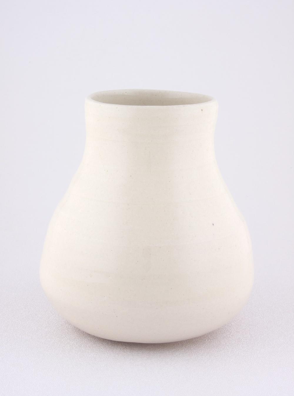 """Shio Kusaka Untitled (clear 1) 2009 Stoneware 6"""" x 5 3/4"""" SK058"""