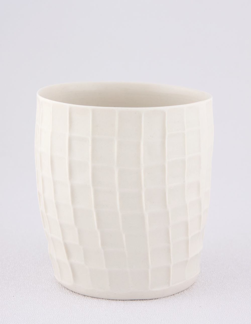 "Shio Kusaka Untitled (cup) 2009 Porcelain 3 1/2"" x 3"" SK018"