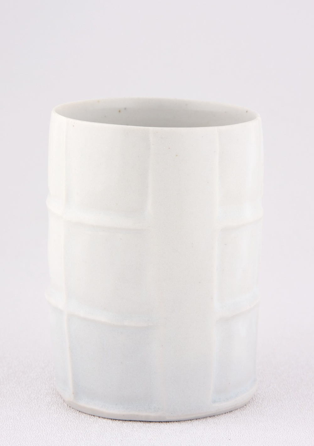 Shio Kusaka  Untitled (cup)  2009 Porcelain 3 ⅝h x 2 ¾w x 2 ¾d in SK017
