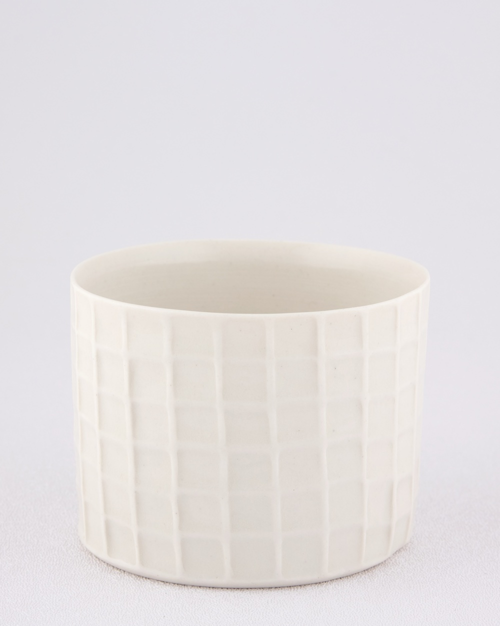 "Shio Kusaka Untitled (cup) 2009 Porcelain 2 5/8"" x 3 1/2"" SK016"