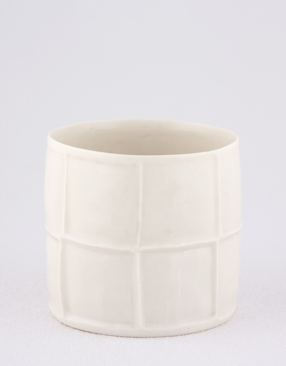 Shio Kusaka  Untitled (cup)  2009 Porcelain 2 ¾h x 3w in SK014