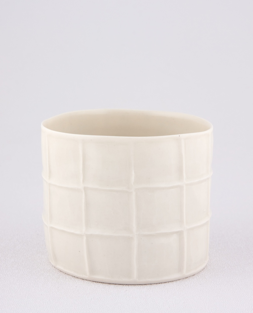 "Shio Kusaka Untitled (cup) 2009 Porcelain 2 3/4"" x 3 1/4"" SK011"
