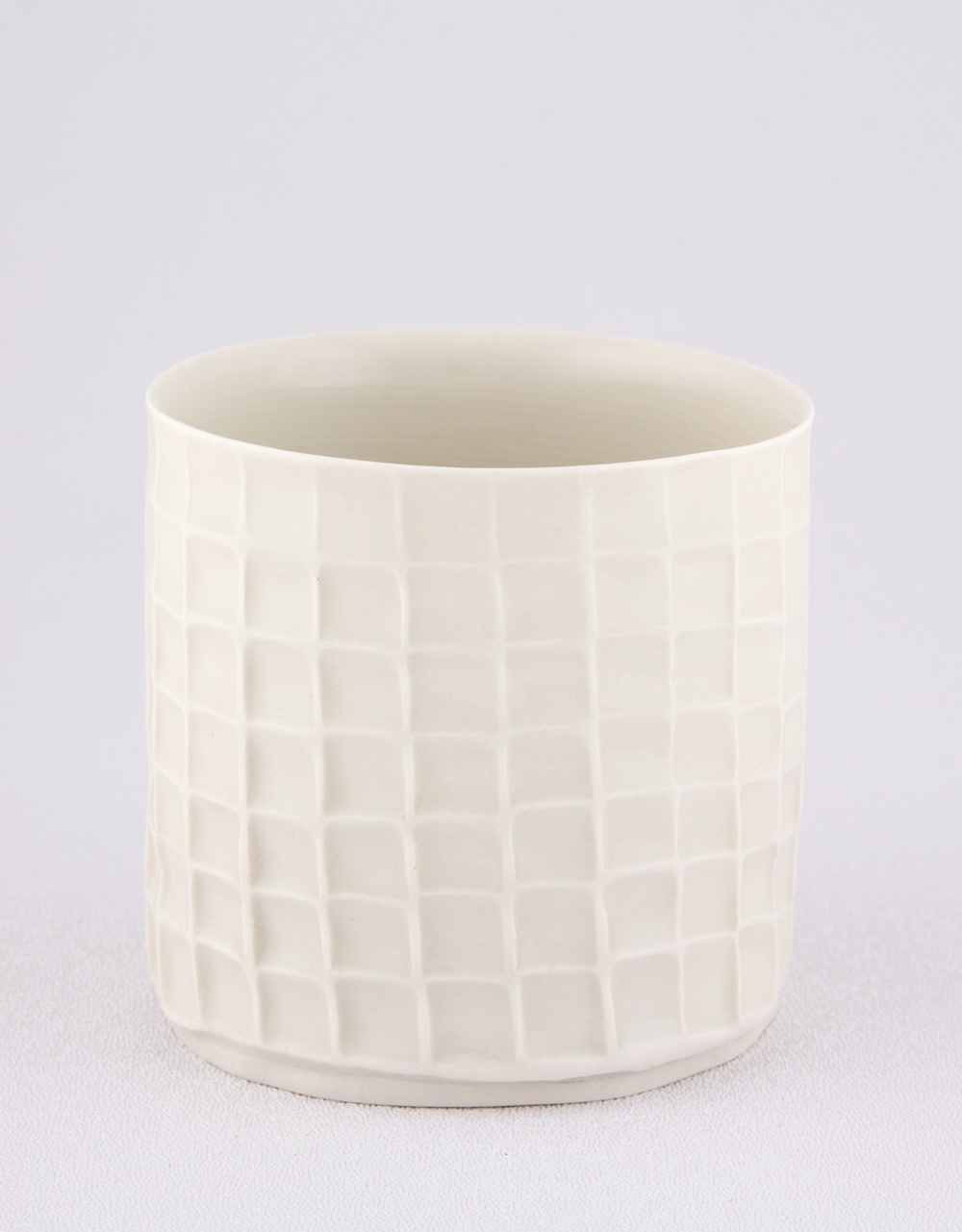 Shio Kusaka  Untitled (cup)  2009 Porcelain 3 ¼h x 3 ¼w in SK010