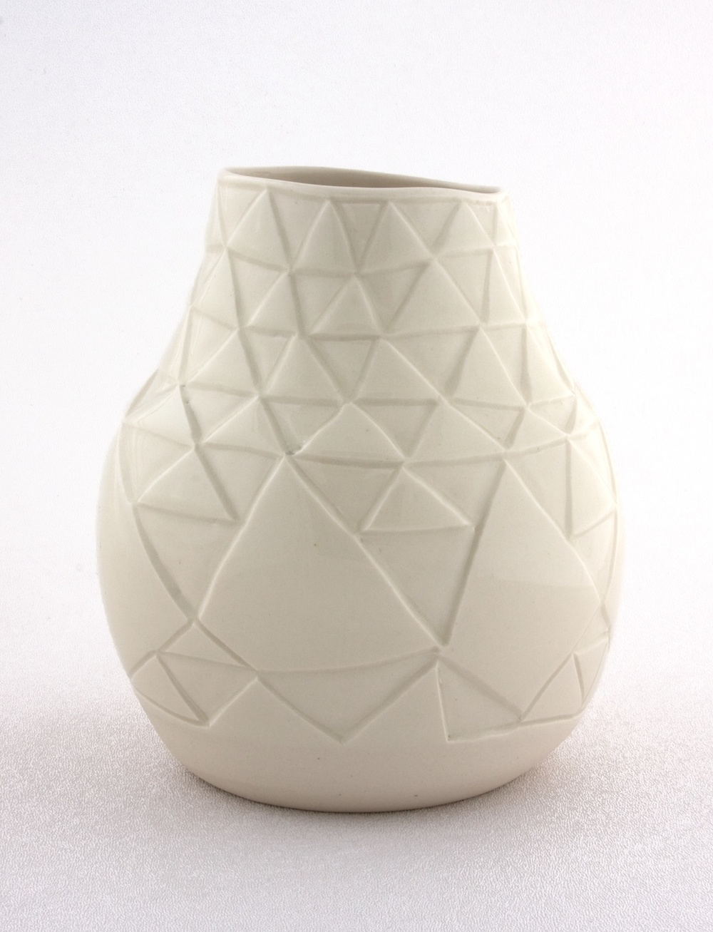 Shio Kusaka  Untitled (triangle 1)  2009 Stoneware 7h x 5w in SK004