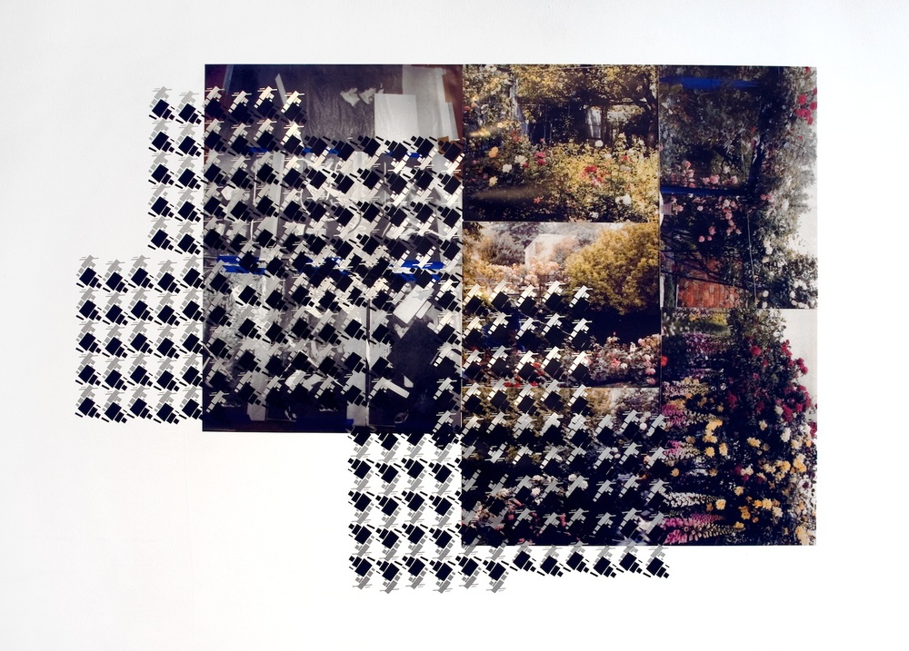 Meredyth Sparks  Untitled (Gudrun wrapped)  2008 Digital prints, vinyl Variable dimensions MS002