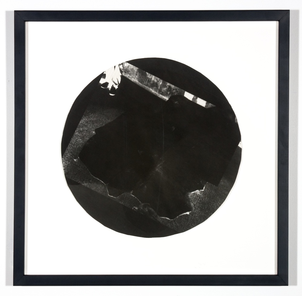 "Amy Granat Dark Star (Ice) 2006 Silver Gelatin Photograph 16"" x 16"" AG002"