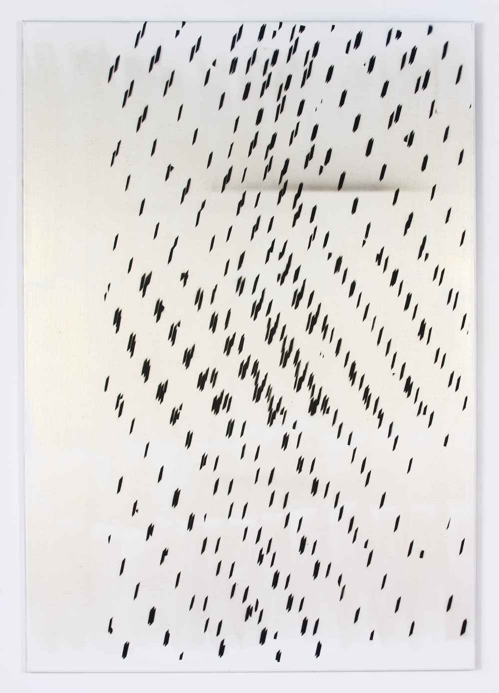 "Nathan Hylden Untitled 2008 Acrylic on linen 67 1/2"" x 47"" NH2908"