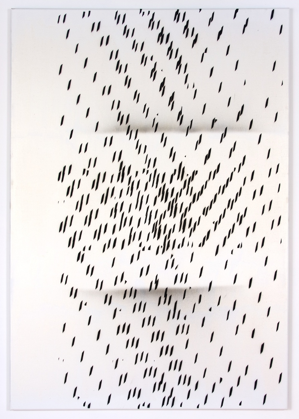"Nathan Hylden Untitled 2008 Acrylic on linen 67 1/2"" x 47"" NH3008"