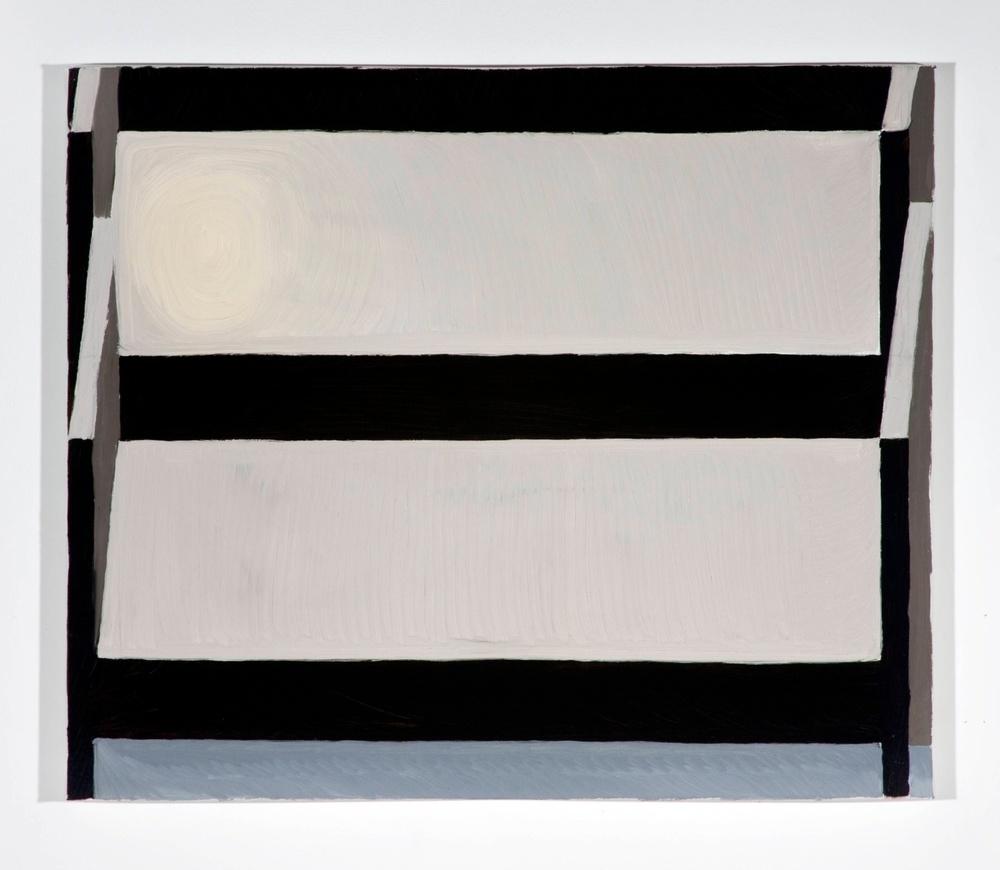 Jesse Chapman  Untitled  2008 Oil on linen 17h x 20w in JC011