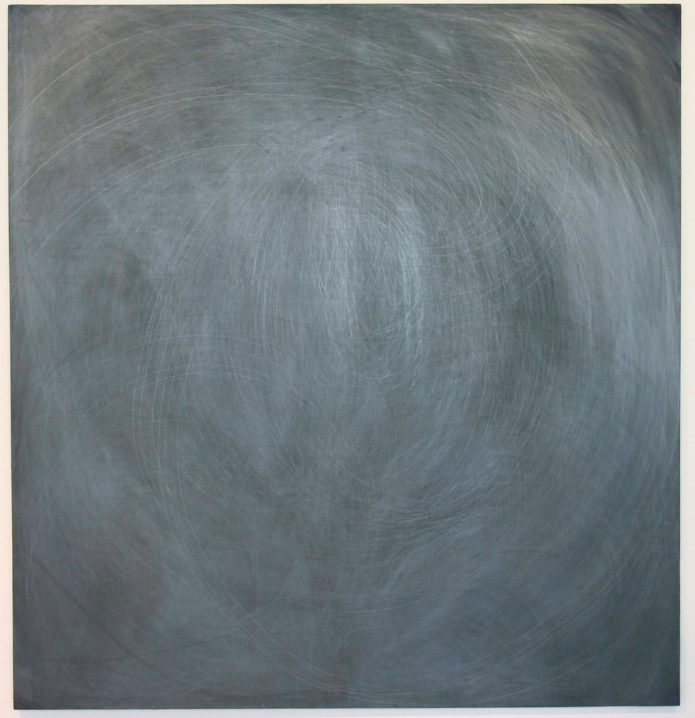 "Aliza Nisenbaum Untitled 2007 Oil and graphite on canvas 72 ½"" x 69"" AN015"