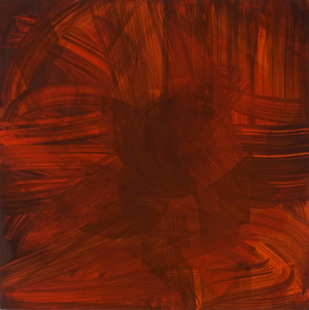 "Aliza Nisenbaum Untitled 2006 Oil on canvas 48"" x 48"" AN016"