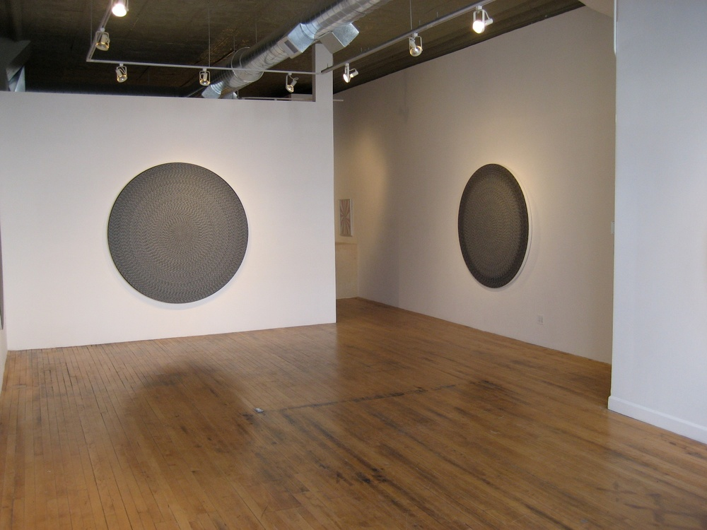 Michelle Grabner Please Return My Kenneth Noland Catalogue 2007 Shane Campbell Gallery, Chicago Installation View