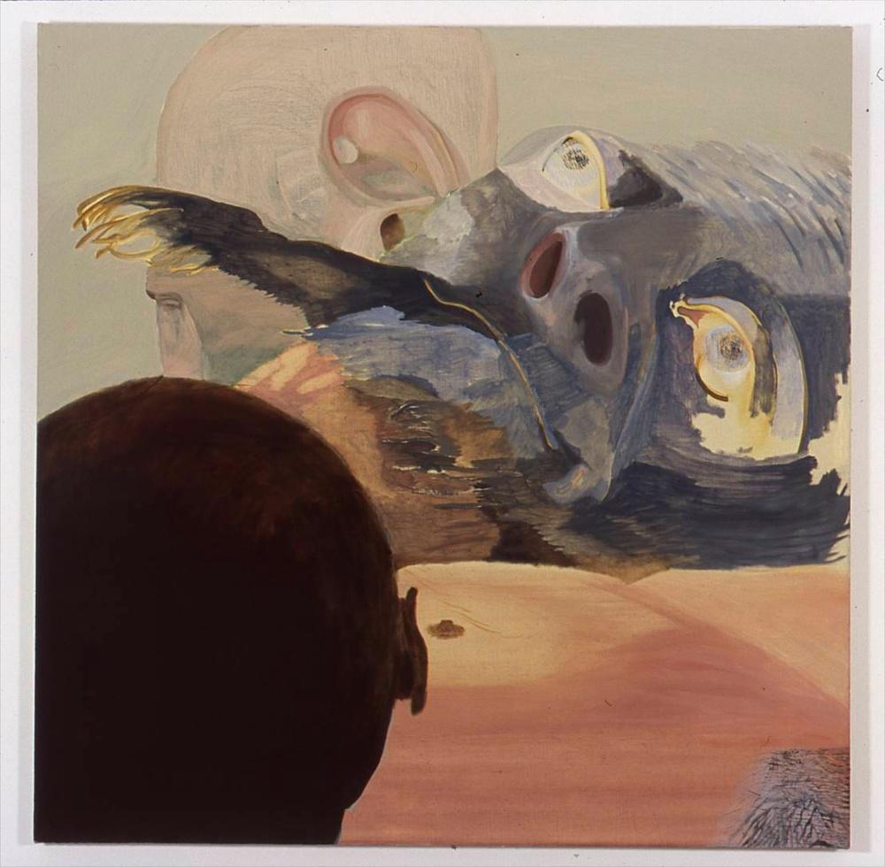Jesse Chapman  The Last Words  2005 Oil on linen 40h x 40w in