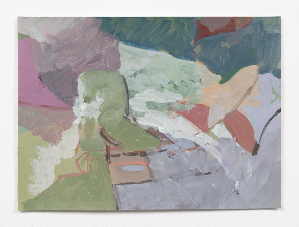 Andrew Kerr  Untitled  2014 Acrylic On Paper 8 ½h x 11 ¾w in Kerr003