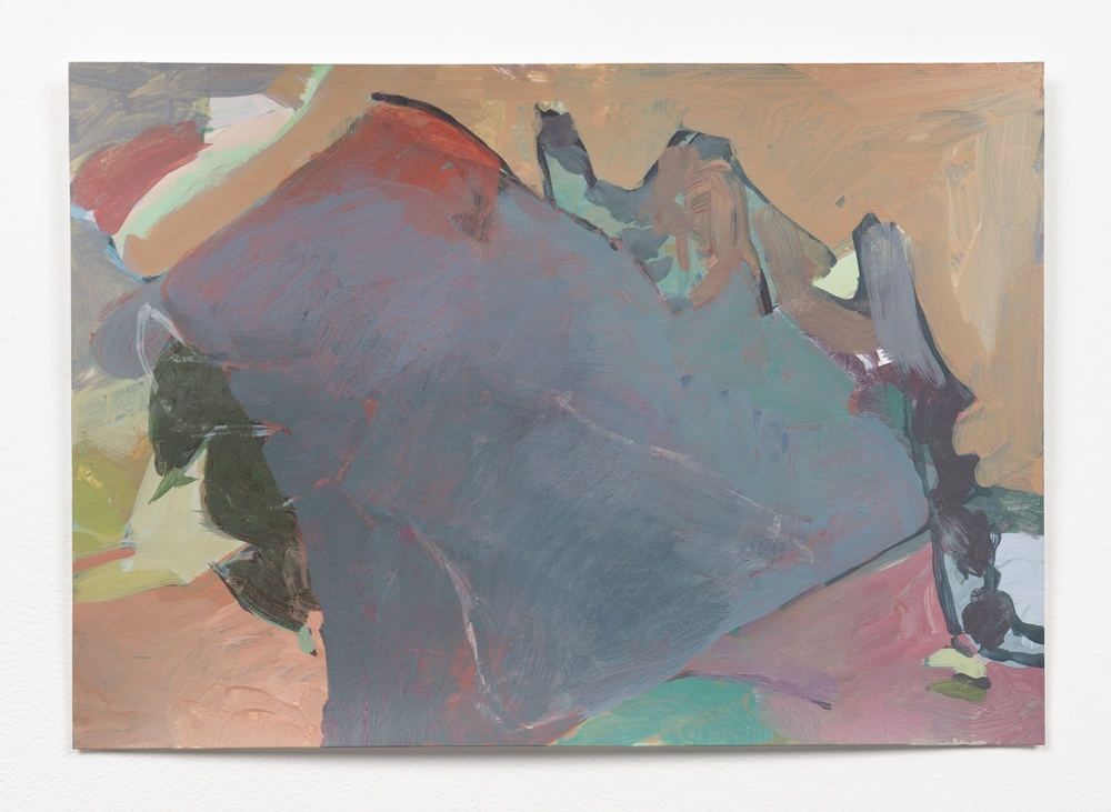 Andrew Kerr  M.M.S. Pauline for a Change  2014 Acrylic On Paper 9 ½h x 13 ½w in Kerr012