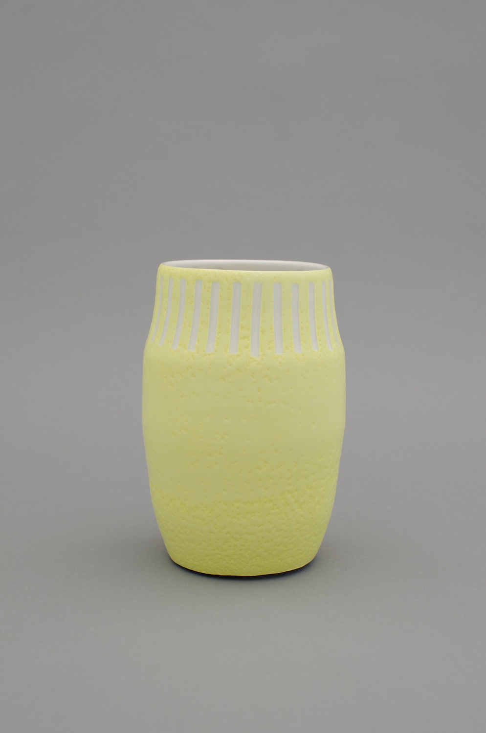 Shio Kusaka  Untitled (mark 21)  2012 Porcelain 7 ¼h x 4 ¾w x 4 ¾d in SK385