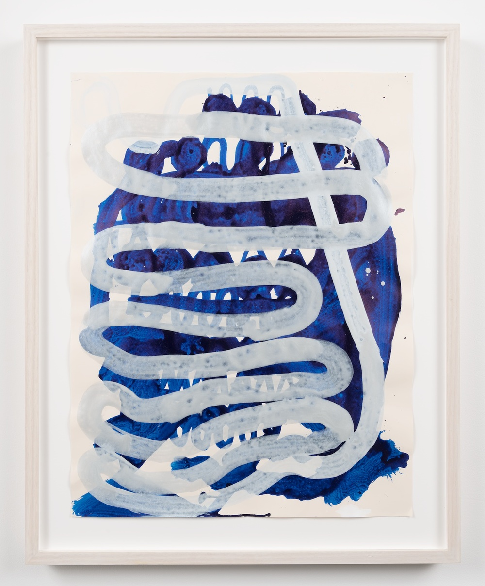William J. O'Brien  Untitled  2013 Ink on paper 25h x 19 ½w in WOB951